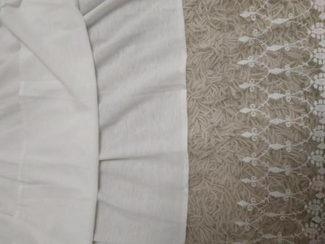 Пляжное белое платье туника - 5