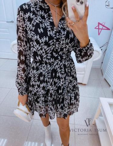 Продам шифоновое платье - 1