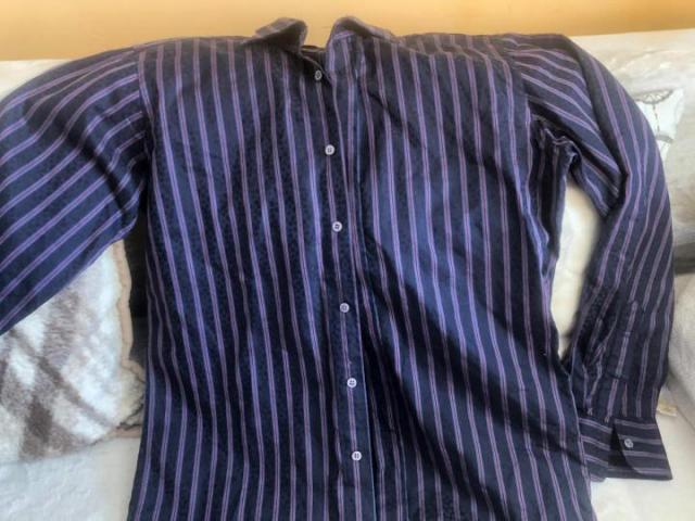 Продаю стильную рубашку -хлопок - 1
