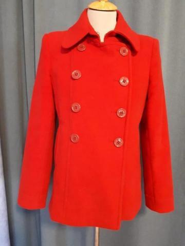 Продаю пальто укороченное шерсть - 1