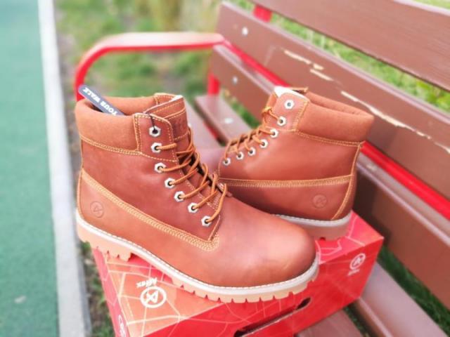 Продам зимние ботинки Affex - 1