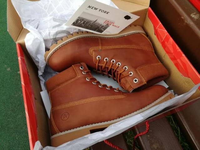 Продам зимние ботинки Affex - 3