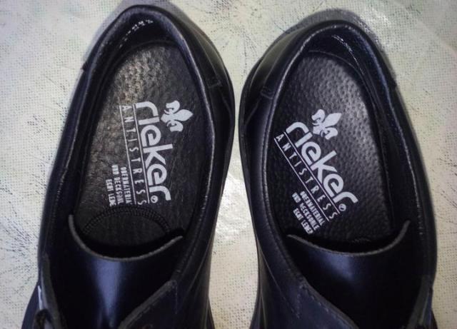"""Продам  стильные мужские полуботинки немецкого обувного бренда """"Rieker"""" - 4"""