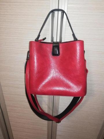 Продам  кожаную сумку - 3