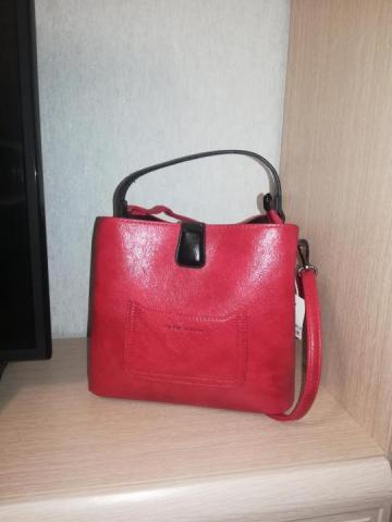 Продам  кожаную сумку - 4