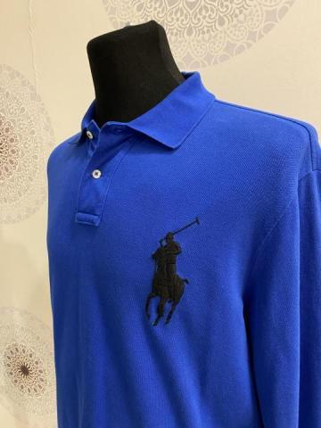 Продам синий свитер от бренда Ralph Lauren - 2