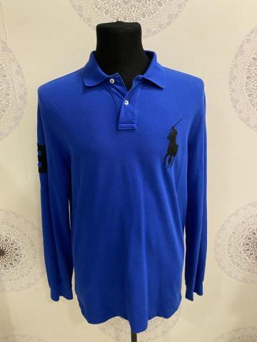 Продам синий свитер от бренда Ralph Lauren - 3