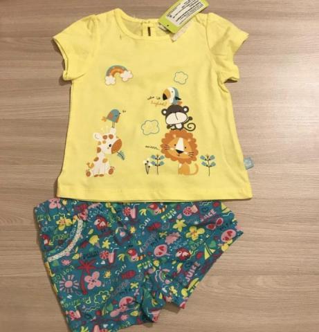 Продам майку и  шорты для девочки crockid - 1