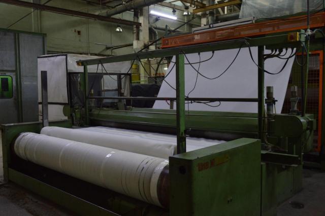Продам две немецкие производственные линии SPINNBAU DILO для производства нетканого полиефирного вол - 5