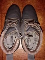 Продам ботинки темно коричного цвета - Изображение 1