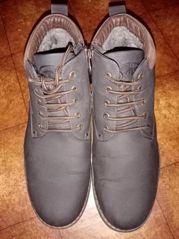 Продам ботинки темно коричного цвета - 3