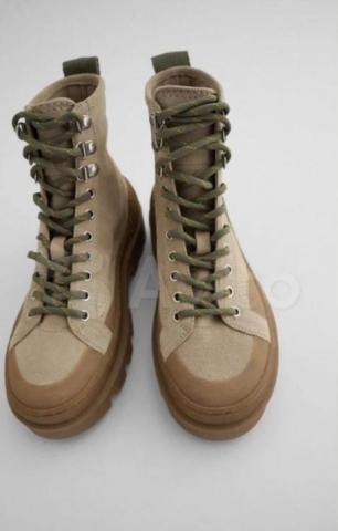Продам  Ботинки Zara новые - 1