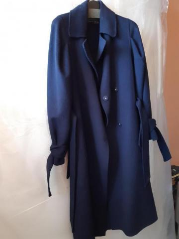 Продам  Пальто Zara синее - 1