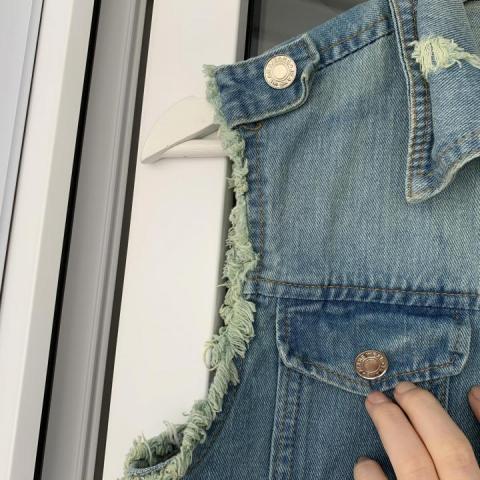 Продам  джинсовку - 4