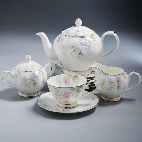 Продам Чайный фарфоровый сервиз в Люксембурге - 1