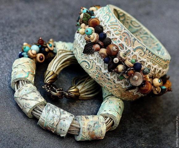 Продам браслеты и украшения  из полимерной глины в Европе - 2