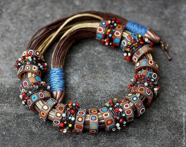 Продам браслеты и украшения  из полимерной глины в Европе - 3