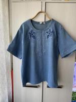 Продам в идеальном внешнем состоянии фирменную джинсовую футболку - Изображение 2
