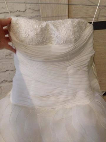 Продам шикарное  свадебное платье - 3