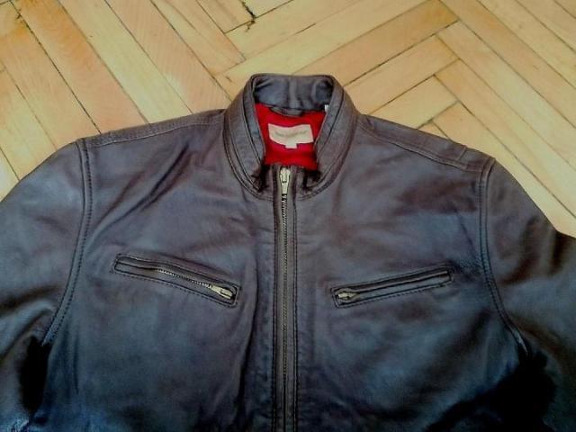 Продам кожаную куртку Levi's - 1