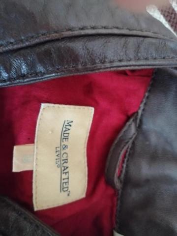 Продам кожаную куртку Levi's - 3