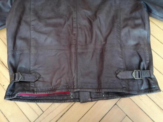 Продам кожаную куртку Levi's - 4