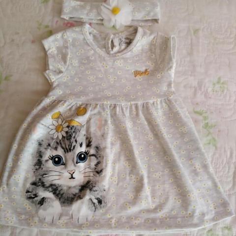 Продам Лёгкое платья и повязка на голову - 1