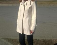 Продам белое пальто демисезонное . - Изображение 2