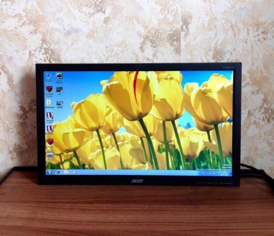 Продаю бу монитор Acer V193HQL - 1