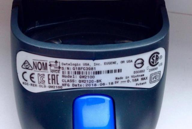 Продаю сканер штрих-кода Datalogic QW2100 - 2