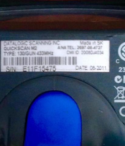 Продаю бу сканер Datalogic QuickScan QM2130 - 2