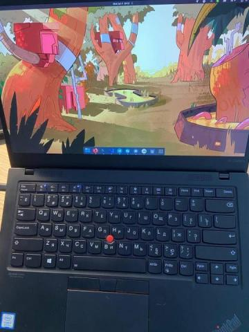 Продаю Ноут Ноутбук Lenovo ThinkPad X1 Carbon Gen 7 20QD003KRT - 1
