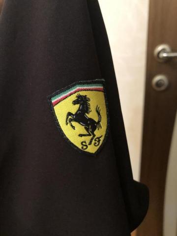 """Продам женский чёрный жакет """"Ferrari"""" - 3"""