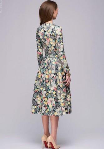 Продам  осеннее платье вечернее в Европе - 2