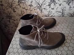 Продам  удобные мужские ботинки