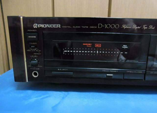 Японская кассетная дека Pioneer D-1000 DAT - 3