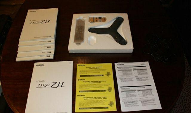 AV ресивер Yamaha DSP-Z11 - 4