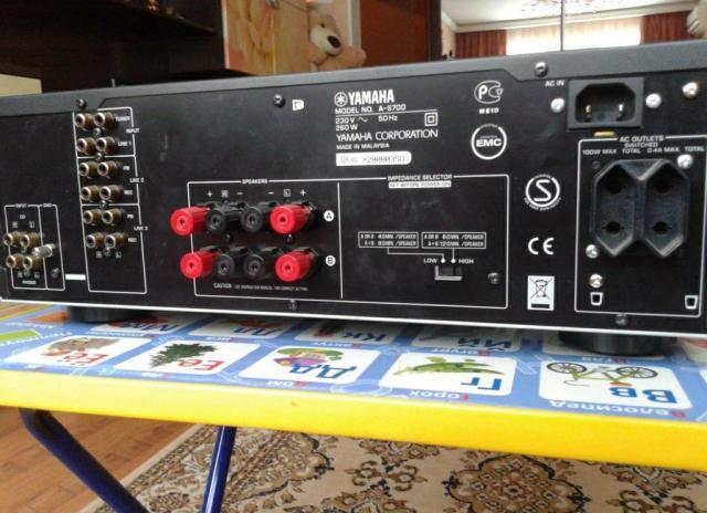 Интегральный усилитель Yamaha a-s700 - 3