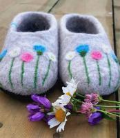 Домашняя обувь из 100% овечьей шерсти