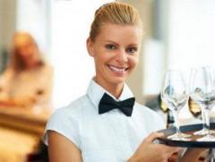 Официанты в 4*отель