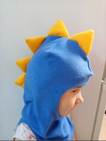 Шапка-шлем для детей - 1
