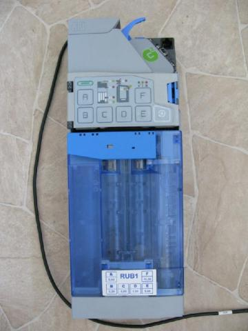 Coin receiver with the function of issuing change NRI Currenza C2 - 1