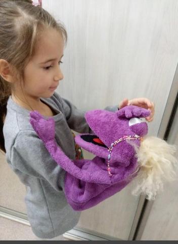 Развивающая игрушка на руку - 4