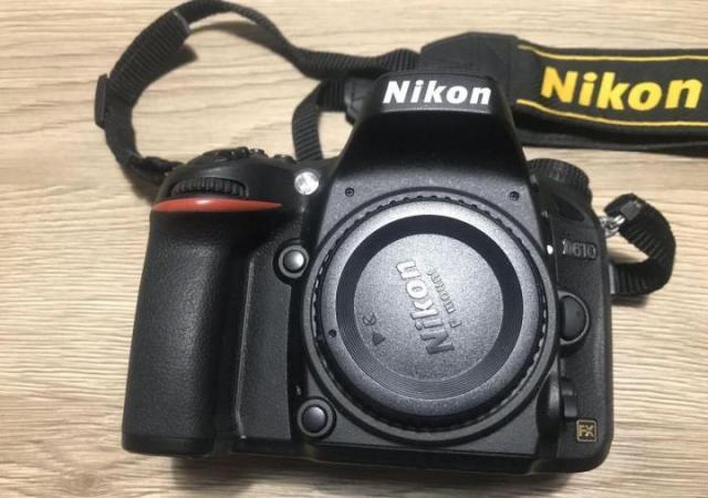 Продается цифровая зеркальная полнокадровая фотокамера nikon d610 body в Европе - 1