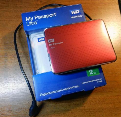 Продам Внешний жесткий диск WD My Passport Ultra,RED в Германии - 3