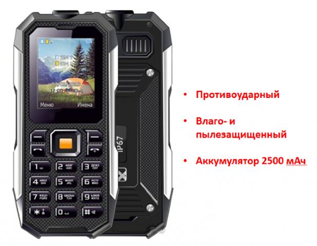 Продам противоударный, кнопочный телефон, IDR815 в Ирландии - 1