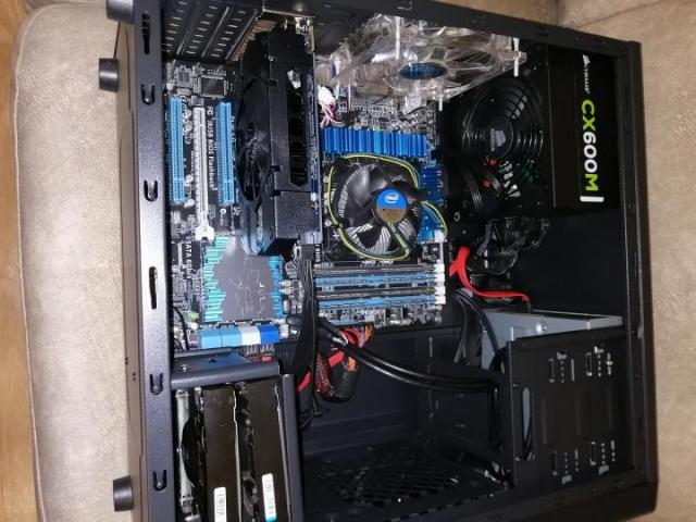 Продаю игровой системный блок  i7-3770, HDD 2500 ГБ, ОЗУ 8 ГБ, 1ГБ на Кипре - 3