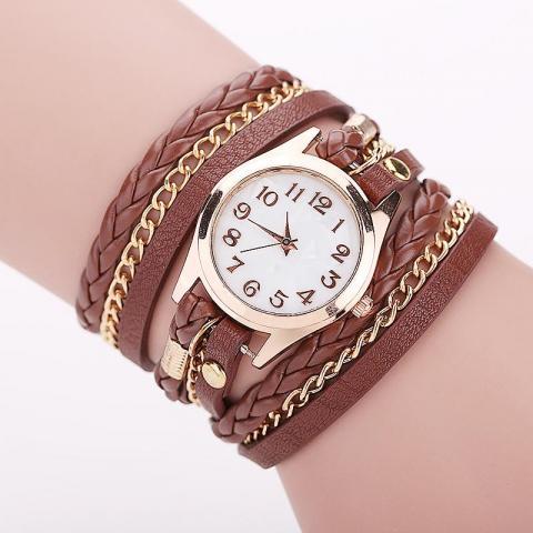 Продам Кожаный Браслет - часы в Англии - 1