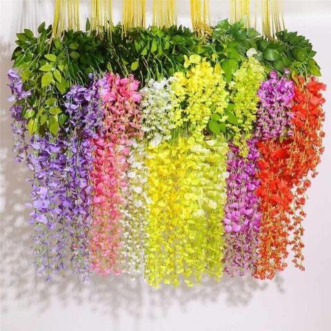 Продам 7 цветов Элегантный цветок Вистерия в Дании - 1