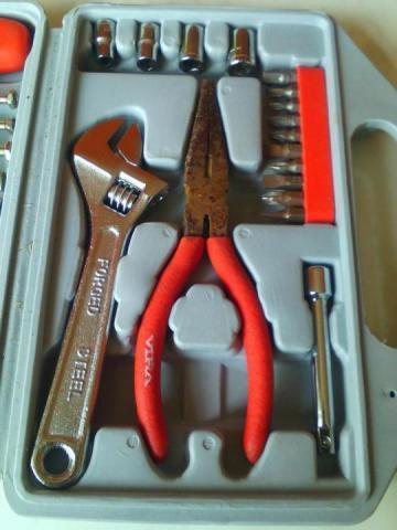 Продам набор инструментов VIRA FORGED STEEL - 2